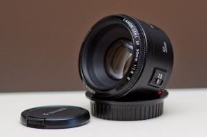 Canon 50mm f/1.8 - недорогой творческий