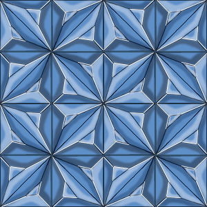 Crystal block made of 16 pieces. Not final version, I think
