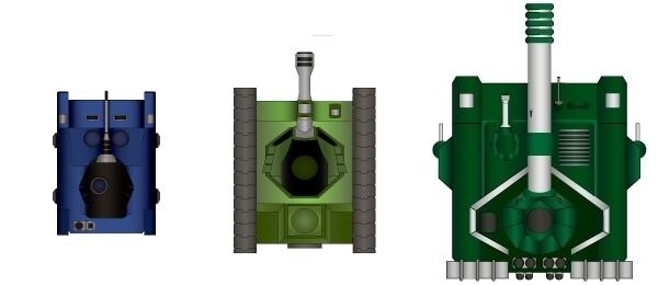 Классы танков