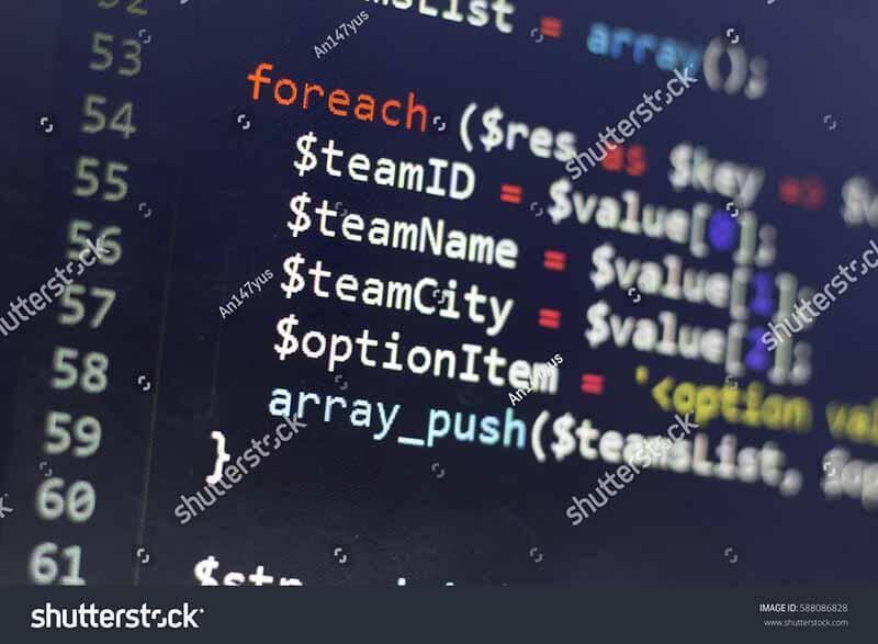 Пример моей работы: исходный код крупным планом