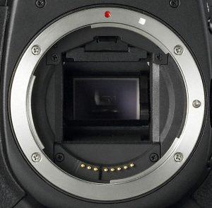 Байонет камеры canon